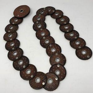 Leather Boho Belt